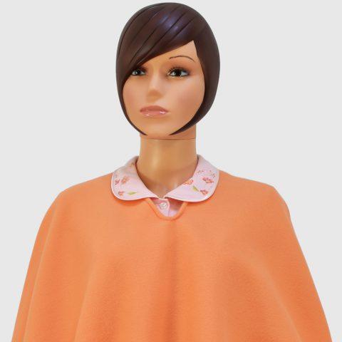 poncho-orange-laconciergeriemedicale